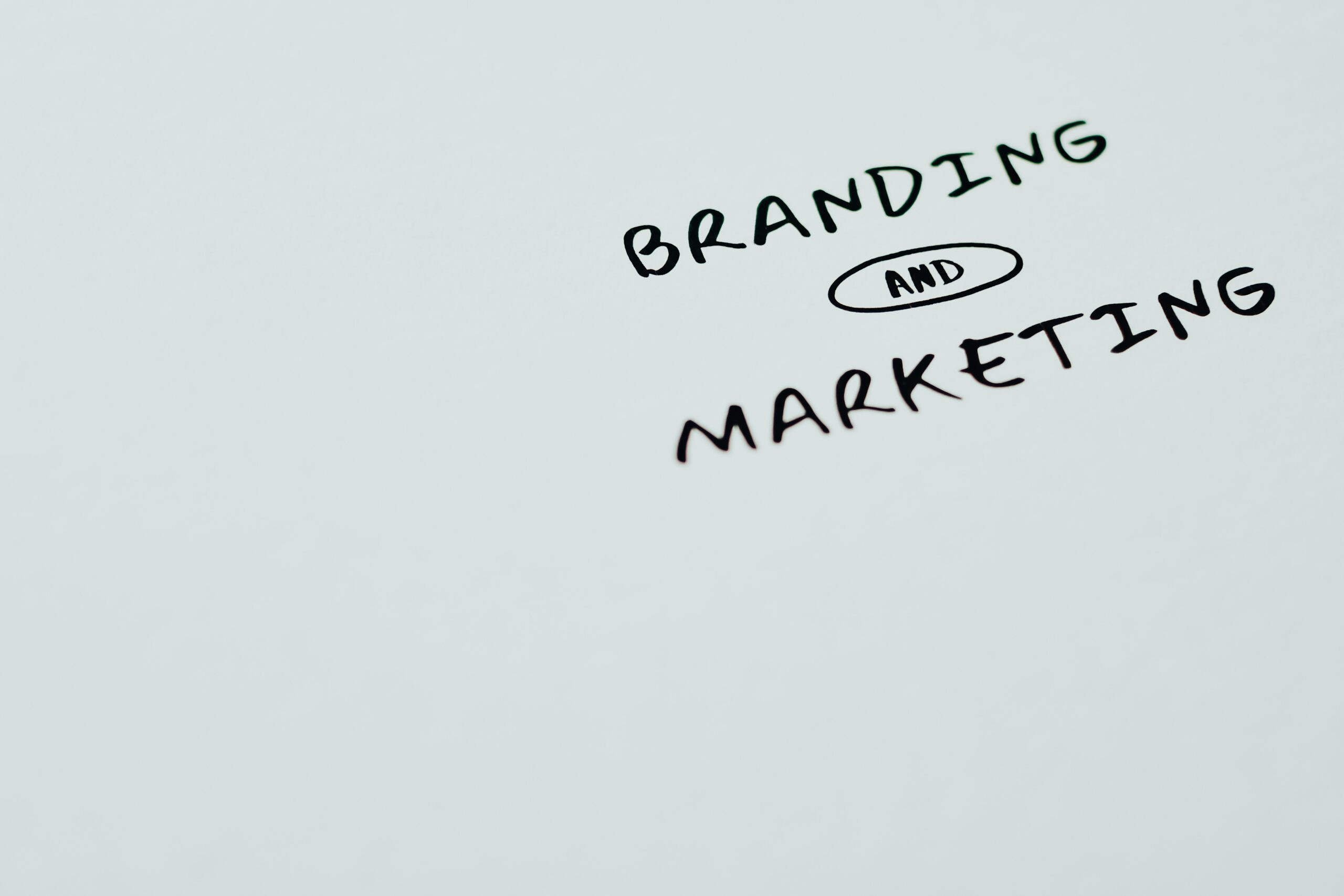 branding and marketing doodle
